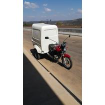 Triciclo De Carga Honda Cg 150cc - Capacidade 250kg