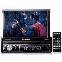H-buster Hbd-9830av Completo Dvd Cd Usb Tela Lcd 7 Retrátil