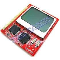 Placa De Diagnostico Pc Analyzer Mini Pci Display Lcd Debug