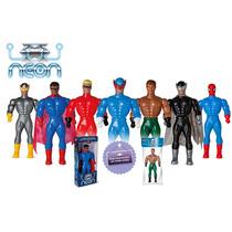 Bonecos X Neon Star Man, Complete Sua Coleção!!!