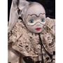 Boneco Antigo Porcelana Pierrot Pierro