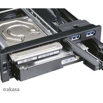 Gaveta Rack Akasa Lockstor M51 Akien01 Hd 2.5 3.5 Sata Ssd