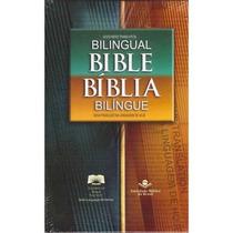 Bíblia Bilingue Ntlh Inglês Português Capa Dura