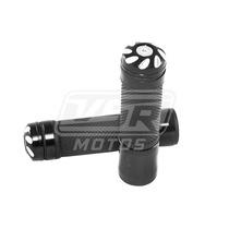 Manopla Esportiva Preta Anodizada Curta Honda Twister 250