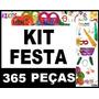Kit Festa Balada 15 Anos Formatura 150 Pessoas + Brindes