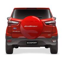 Capa Protetor Estepe Ecosport 12 13 14 15 Vermelho Arpoador