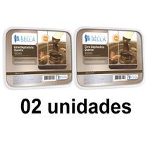 Cera Quente Depil Bella Negra 1kg - Kit Com 02 Unidades