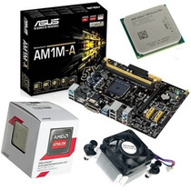 Kit Placa Asus Am1m-a/br + Amd Athlon 5150 Quad Core 4x Core