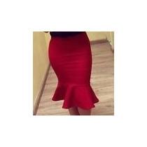 Saia Sino/bandagem /plus Size/ Evangelica/social/babados