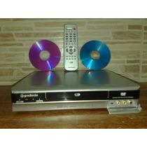 Gravador De Dvd De Mesa Gradiente Dr-850 Ótimo Estado
