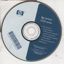 Cd De Instalação Para Impressora Hp Deskjet 3500 - 3550