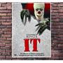 Poster Exclusivo Filme It Palhaço Assassino Terror - 30x42cm