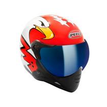 Capacete Peels F21 Eagle Viseira Iridium Azul