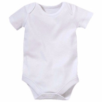 Body Infantil Para Sublimação 100% Poliester Branco