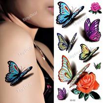 Tatuagem Temporária * Kit *