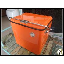 Antigo Cooler Geladeira Anos 50 Restaurado Padrão A.
