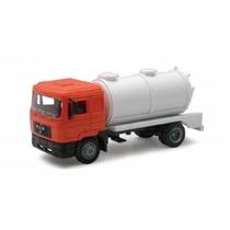 Miniatura Caminhão Man F2000 Truck Fossa 1:43 New Ray