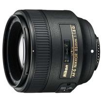 Nikon 85mm F/1.8g Af-s Nikkor Pronta Entrega / Ac.merc. Pago