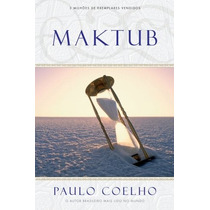 Maktub Livro Paulo Coelho Novo