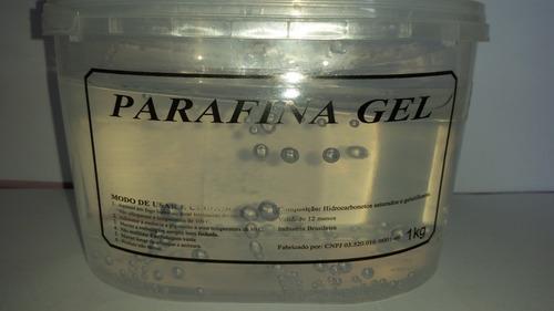 Parafina Gel Cristal - 1kg +15 Pavios Para Gel+7gr Corantes