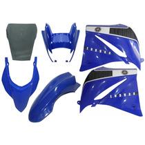 Kit Carenagem Xt660 Azul 2010 2011 2012 2013 2014 Com Bolha