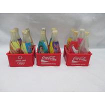 Coleção Coca Cola 12 Mini Garrafas Olimpiadas Atenas 2004