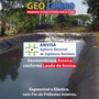Lona Geomembrana Atoxica Tanque Peixe Lago 800 Micra 8x8 Mt
