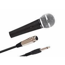 Microfone Waldman B5800 Antigo Gpa = Shure Sm58, Xm1800 C/nf
