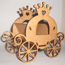 5 Cachepô Carruagem Princesamdf Decoração Lembrancinha Festa