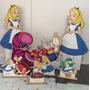 8 Display De Chão E Mesa Alice No Pais Das Maravilhas