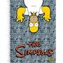 Caderno Anotações The Simpsons + Adesivos