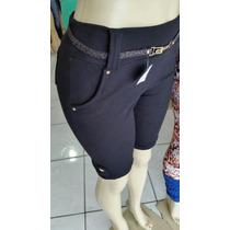 Bermuda Shorts De Bolso Com Detalhes Cotoon P-m-g-gg