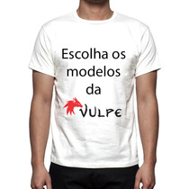 4 Camisas, Camisetas Estampa Total Modelos Da Vulpe