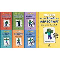Kit Diário De Um Zumbi Do Minecraft - 7 Livros