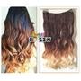 Alongamento Aplique Tic Tac Californiana Ombré Hair 60cm