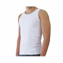 Camiseta Camisa Regata Branca Tfm Masculina E Feminina