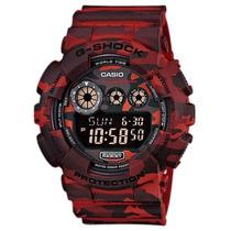 Relógio Casio G-shock Gd-120 Cm-4 5 Alarmes Camuflado 200m V