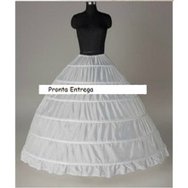 Anágua Vestido Noiva 15 Anos Muito Rodada Pronta Entrega