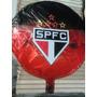 Balão São Paulo 45cm Metalizados Kit C/ 10 Unidades Vazio