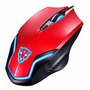 Mouse Laser Gamer Usb Rgb Ergonômico 6d F60 Red Oletech
