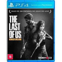 The Last Of Us Remastered Ps4 Em Português