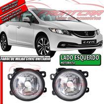 Farol De Milha Honda Civic 2015 Unitário Lado Esquerdo