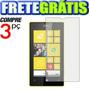 Pelicula Premium Nokia Lumia 520 N520 Fosca Ou Transparente