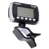 Afinador Metrônomo Donner Dr96b Eletrônico Digital Com Clip