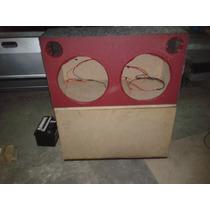 Caixa Selada Litrada Para Alto Falantes De 15