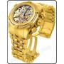 Relógio Invicta Bolt Zeus 13757 Gold Skelecton 100% Original