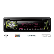Toca Cd Mp3 Pioneer Deh 3550 Usb Fm/am Mixtrax Multicores
