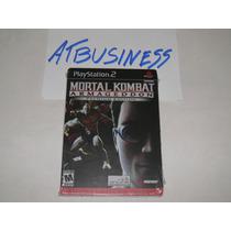 Ps2 Mortal Kombat Armageddom Premium Metalcase Novo Lacrado