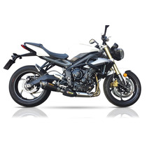 Escapamento Hurricane Evolution Hf1 Street Triple 675