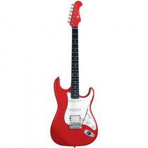Guitarra Eagle Sts-002 Rd Stratocaster Vermelha - Refinado